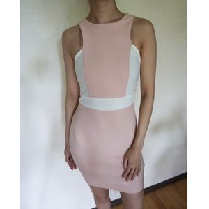 2/$18 ⭕️ Pink and White Dress
